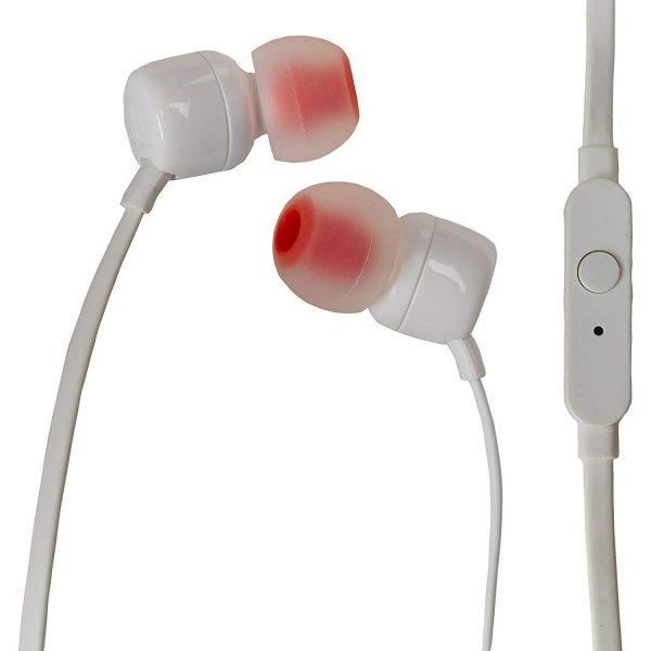 JBL T110 Auriculares Manos Libres In Ear Blanco