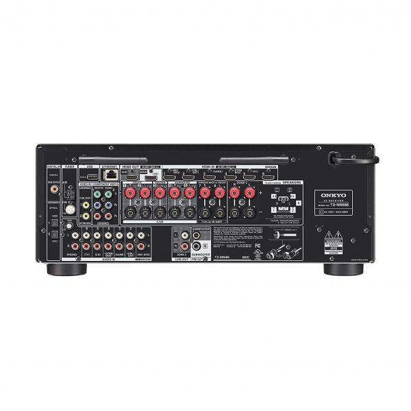 Amplificador Onkyo Tx-nr686 Receptor A / V Network Thx De 7.2 Canales